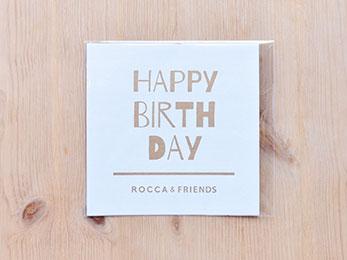 オリジナルメッセージカード<br>/ HAPPY BIRTH DAY